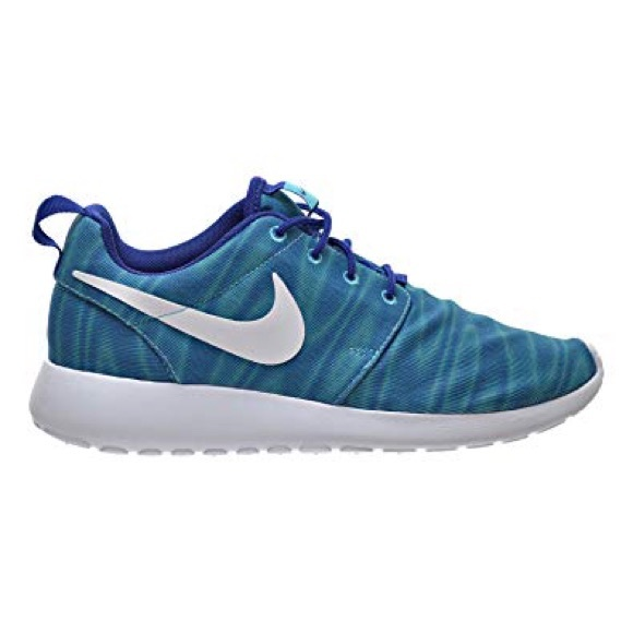7e7cd89a80641 Nike Roshe One Print Gamma Blue Women s 6 New